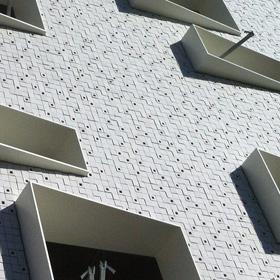 tegels gebouw